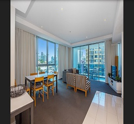 GC Private Apartments at H Residences building, Two Bedroom Apartment Level 5